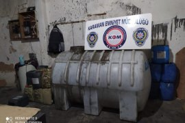 Karaman'da kaçak akaryakıt operasyonu