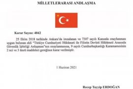 Türkiye Filistin Güvenlik Anlaşması Tamam