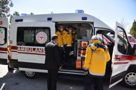 Karaman'a Tam Donanımlı 4 Yeni Ambulans