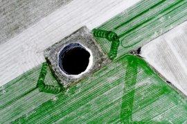 Karapınar'da Bir Obruk Daha! 3 m çapında 65 m derinliğinde