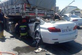 Otomobil Tıra Çarptı! Ölüler ve Yaralılar Var