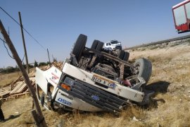 Karaman'da trafik kazası: 1 ölü