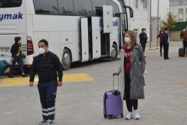Karaman'da Yolcu otobüsündeki 16 kişi karantinaya alındı