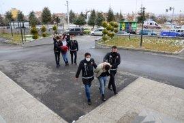 Suç örgütü operasyonunda yakalanan 41 kişiden 11'i tutuklandı