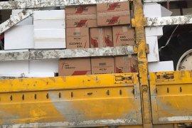 Karaman'da 1 milyon 500 bin makaron ele geçirildi