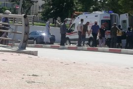 Karaman'da Motosiklet Kazası! 1 Yaralı