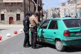 Karaman'da 'tam kapanma'ya ilişkin denetimler sürdürülüyor