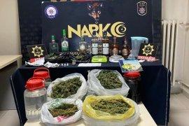 Karaman'da sahte içki ve uyuşturucu operasyonunda 3 tutuklama!