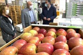 Karaman'dan Tayland'a İlk Elma İhracatı Gerçekleşti.