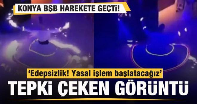 Tepki çeken görüntü! Konya Büyükşehir Belediye Başkanı'ndan açıklama!