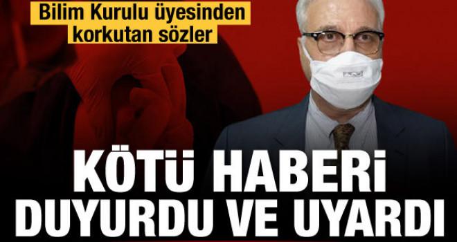 Bilim Kurulu Üyesi Prof. Dr. Tevfik Özlü Kötü Haberi Duyurdu