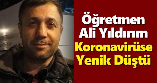 Karamanlı Öğretmen Kovid-19'a Yenik Düştü