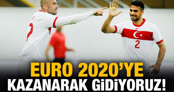 EURO 2020'ye kazanarak gidiyoruz!