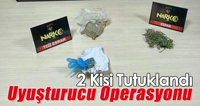 Konya'da uyuşturucu operasyonu! 2 tutuklama