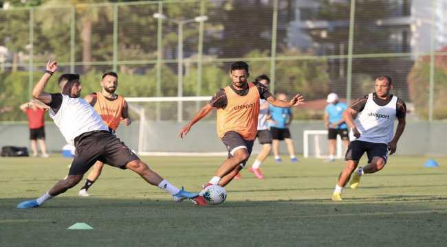 Aytemiz Alanyaspor, MKE Ankaragücü maçının hazırlıklarına başladı