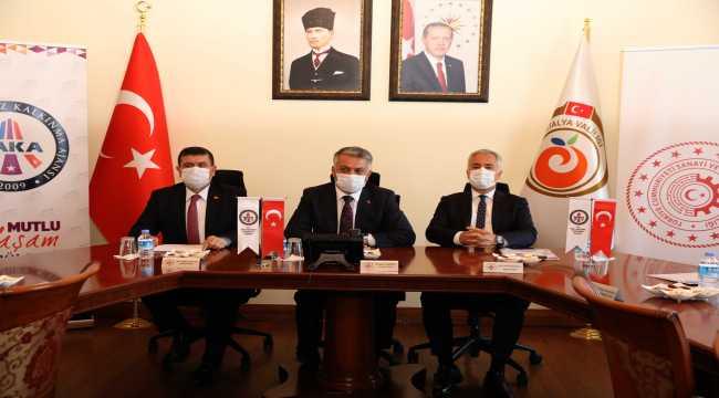 BAKA, Vali Yazıcı başkanlığında toplandı