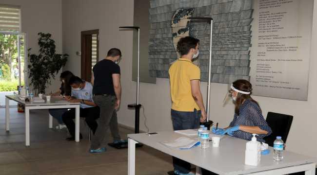 Çankaya Belediyesinin düzenleyeceği sınava 4 bin 344 zabıta adayı başvurdu