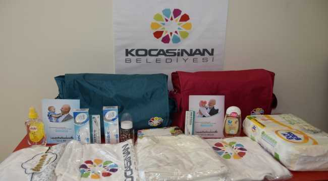 Kocasinan'da 17 bin 800 bebeğe