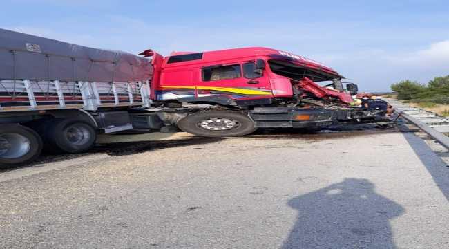 Mersin'de trafik kazası: 2 yaralı