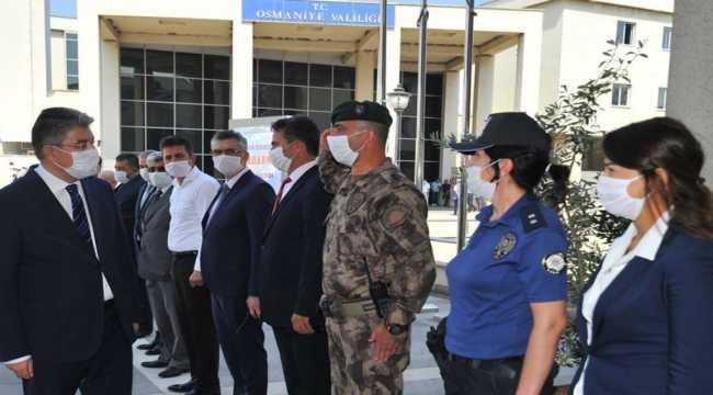 Osmaniye Valisi Yılmaz'dan İl Emniyet Müdürlüğünü ziyaret