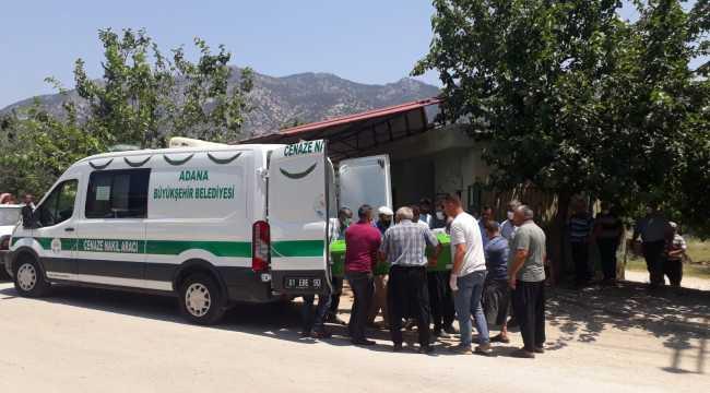 Adana'da eşi tarafından öldürülen kadın toprağa verildi