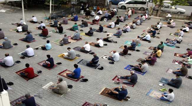 Ankara'da Kurban Bayramı namazı