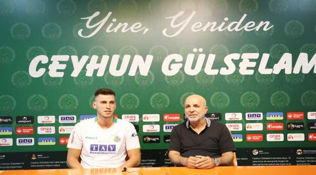 Aytemiz Alanyaspor, Ceyhun Gülselam ile sözleşme yeniledi