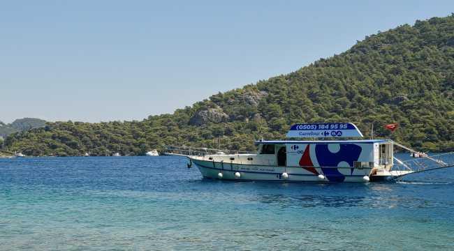 CarrefourSA'dan Göcek'teki deniz hayatını korumaya destek