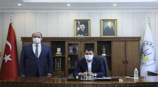 Çevre ve Şehircilik Bakanı Murat Kurum, Konya'da: