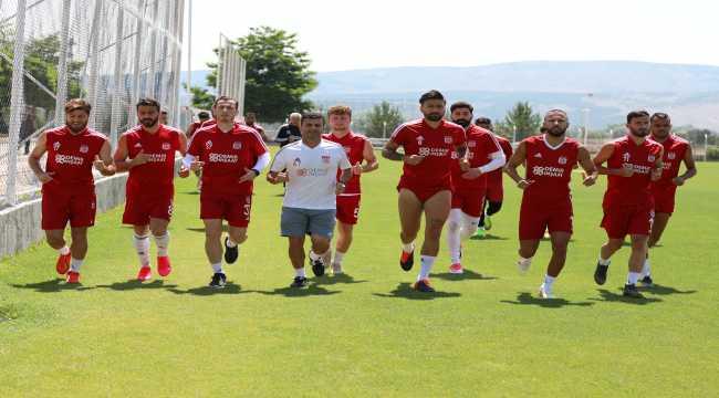 Sivasspor'da Yeni Malatyaspor mesaisi başladı