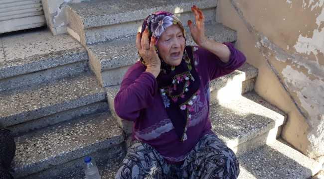 Adana'da evi yanan yaşlı kadına yardım eli