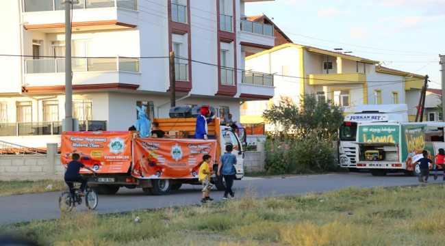 Aksaray Belediyesinden gezici bayram konseri