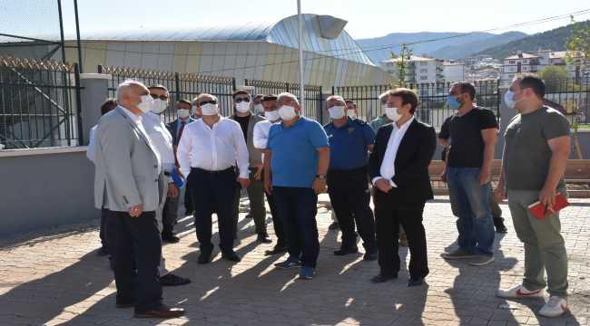 Ankara İl Emniyet Müdürü Yılmaz, Kızılcahamam'ı ziyaret etti
