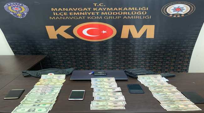 Antalya'da piyasaya sahte para sürmeye çalışan 5 kişiden biri tutuklandı