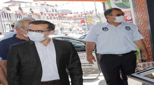 Beypazarı'nda ev karantinasındaki Kovid-19 hastaları takip altında