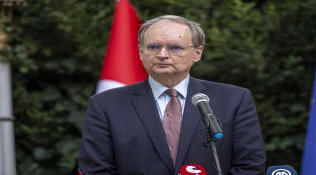 Gazeteciler Cemiyeti'nden AB Türkiye Delegasyon Başkanı Berger'e veda resepsiyonu