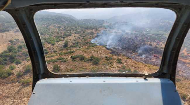 Hatay'daki yangında 1,5 hektar alan yandı
