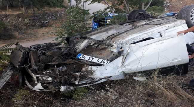 Kırıkkale'de trafik kazaları: 13 yaralı