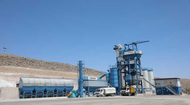 Kocasinan Belediyesi asfalt üretimiyle 19 milyon 680 bin lira tasarruf sağladı