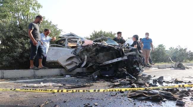 Adana'da tır ile cip çarpıştı 3 kişi yaralandı
