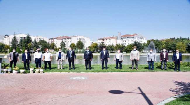 AK Parti İl Başkanı Çalışkan STK'lar ile bir araya geldi
