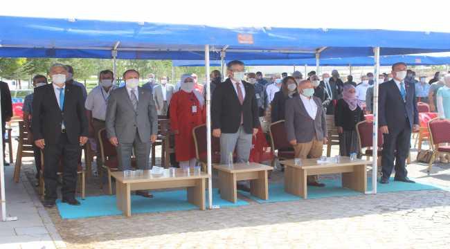 AK Parti Tomarza İlçe Başkanı Şahin, güven tazeledi