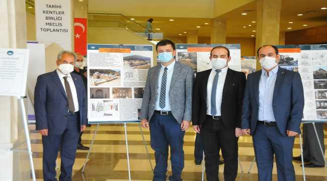 Akşehir Belediyesine Tarihi Kentler Birliğinden ödül