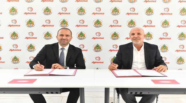 Alanyaspor, Aytemiz ile isim sponsorluğu anlaşmasını uzattı