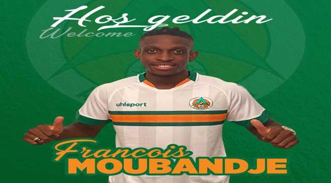 Alanyaspor, François Moubandje'yi bir yıllığına kiraladı