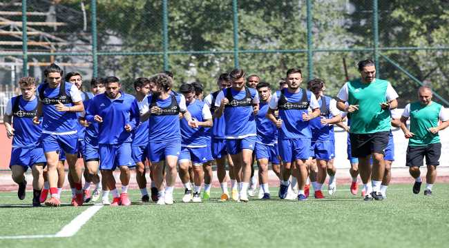 Ankaraspor, Ankara Keçiörengücü maçı hazırlıklarını sürdürdü