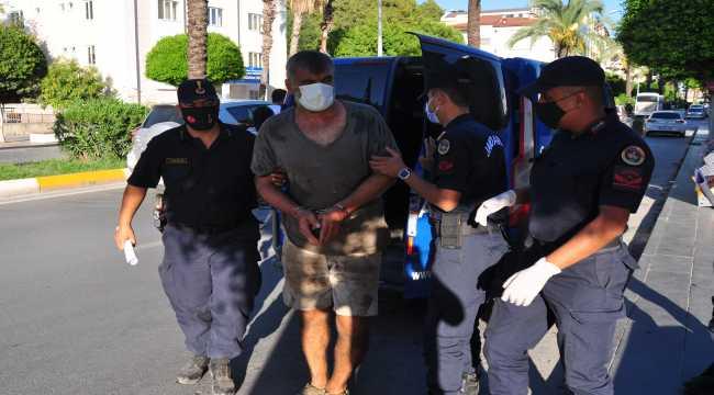 Antalya'da çeşitli suçlardan aranan cezaevi firarisi yakalandı