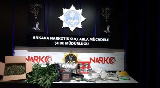 Başkentte narkotik timleri uyuşturucu satıcılarının korkulu rüyası oldu