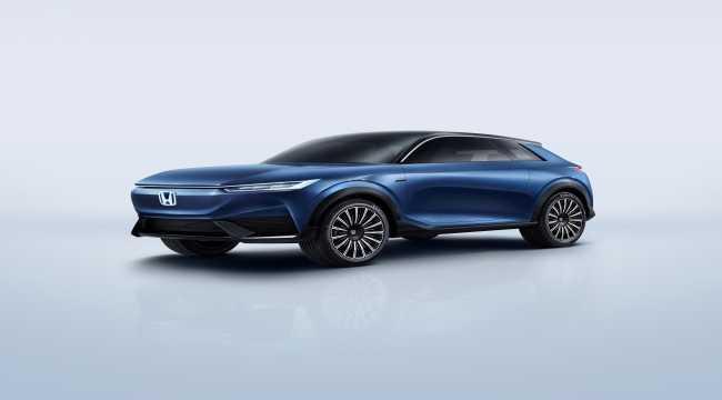 Honda SUV e:concept'in dünya prömiyeri yapıldı