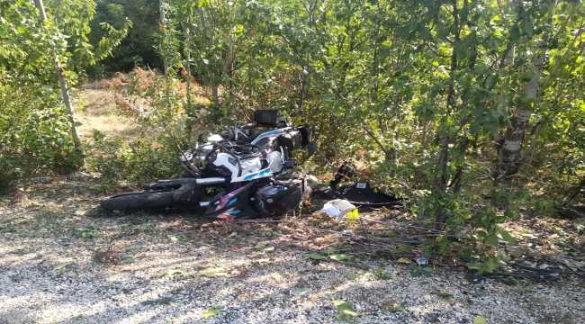 Isparta'da aile hekimi, motosiklet kazasında hayatını kaybetti